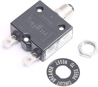 DEVMO 2PCS 125/250V AC 20 Amp Circuit Thermal Breaker Thermal Protector for Generator