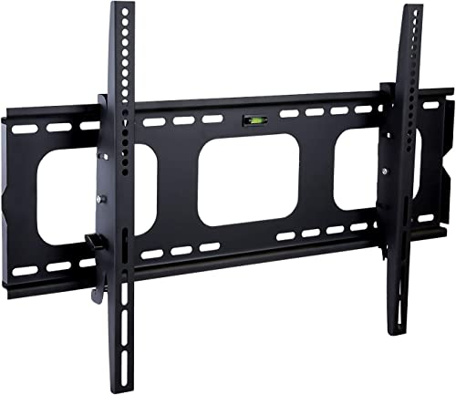 Mount-It! Low Profile TV Wall Mount | Large TV Mount Wall Bracket | Tilting TV Wall Mount Bracket | Heavy Duty Flat S...