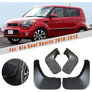 Motors Automotive Muchkey no dril car mud Flaps for Kia Soul 2010 ...