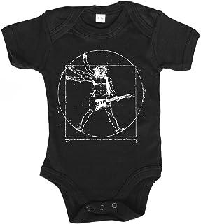 clothinx Baby Body Unisex Vitruvian Rocker