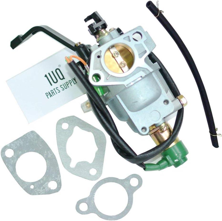 倉 1UQ Manual Choke Carburetor Carb for 7000 10500 Wat 期間限定の激安セール Troy-Bilt XP