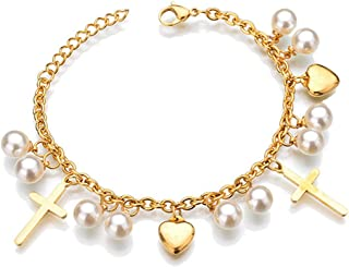 Best tiffany pearl toggle bracelet Reviews