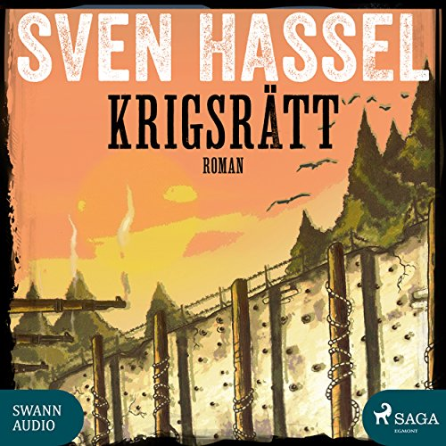 Krigsrätt audiobook cover art