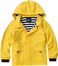 girl in yellow raincoat