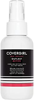 COVERGIRL Outlast Active All-Day Setting Mist, Translucent, 100 ml
