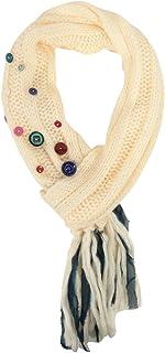 American Rag Ribbon & Button Crafty Women's Scarf