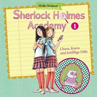 Chaos, Karos und knifflige Tricks (Sherlock Holmes Academy 1) Titelbild