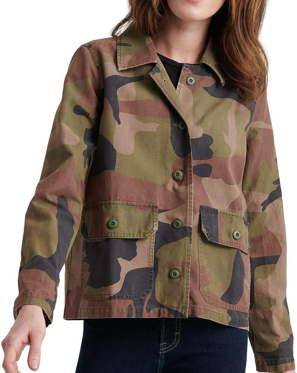 Lucky Brand Dealing full price reduction Women's Utility Jacket Free Shipping Cheap Bargain Gift Shirt