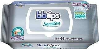 BBtips Sensitive, Toallas Húmedas para Bebé, 792 Toallas