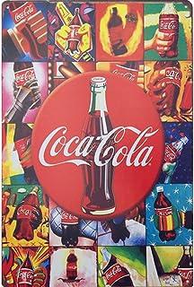 5D Pintura Diamante Kits DIY Bordado Punto Cruz Manualidades Botella De Coca Cola Diamond Painting Lienzo Full Drill Cristal Rhinestone Hogar House Decoración la Pared S3232 -Round Drill,60×80cm
