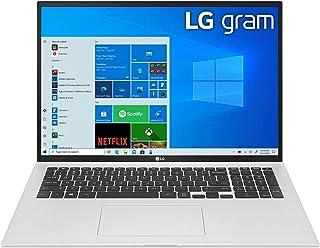 LG Gram 17Z90P-G Ultra Light Weight Laptop,IntelCore i7-1165G7,17Inch,1TB SSD,16GB RAM,Iris® Plus Graphics,Win10 Home,Silv...