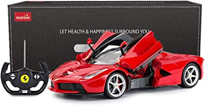 RASTAR RC Car | 1/14 Scale Ferrari LaFerrari Radio Remote Control R/C Toy Car Model Vehicle for Boys Kids, Red, 13.3 x 5.9...