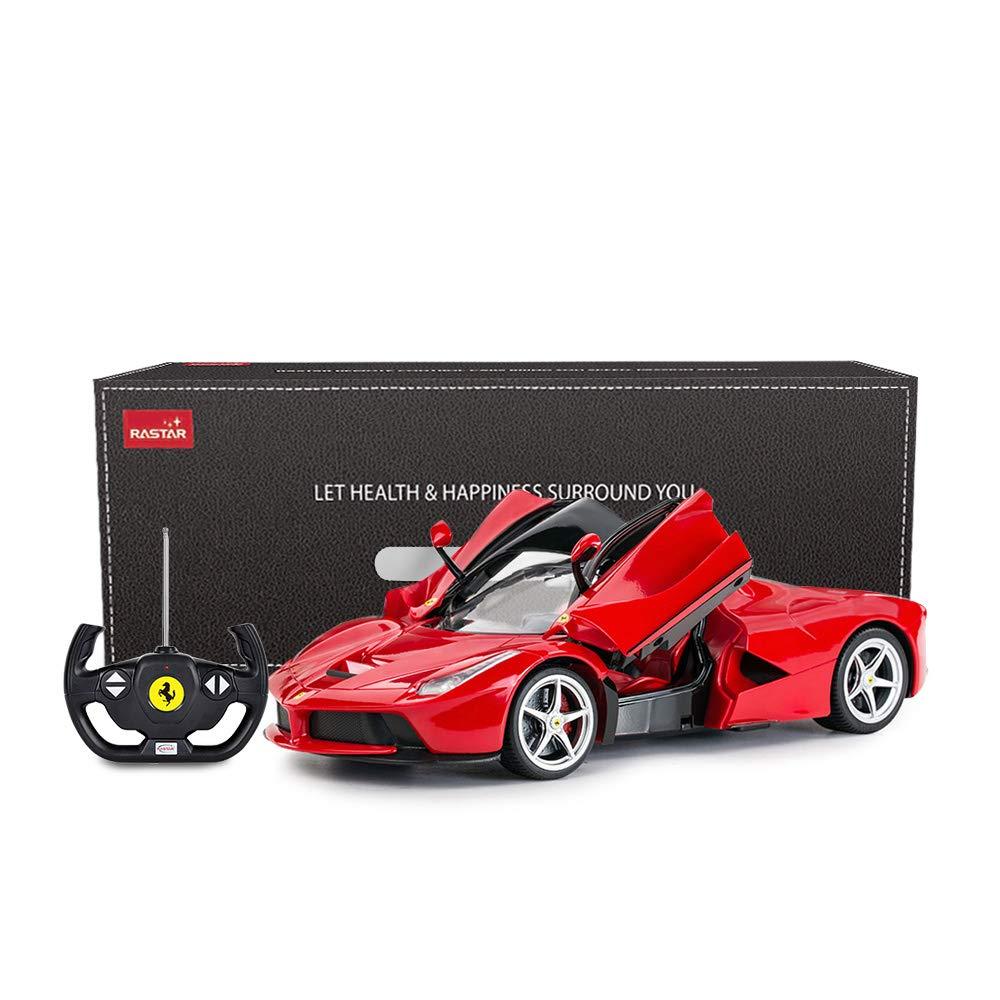 Rastar Rc Car 1 14 Scale Ferrari Laferrari Radio Remote Control R C Toy Car Model Vehicle For Boys Kids Red 13 3 X 5 9 X 3 3 Inch Buy Online At Best Price In Uae Amazon Ae