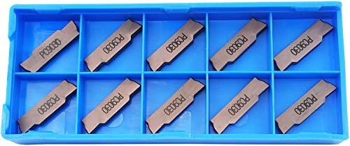 new arrival 10PCS new arrival MGMN300-M PC9030 Indexable Solid Carbide Turning online Grooving Insert Blade For Processing Stainless steel, Cast iron outlet sale