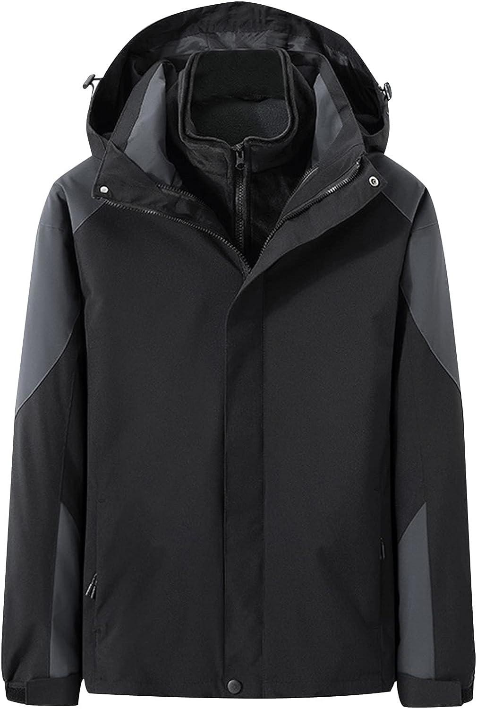 CHENGSE 2021 Max 79% OFF Fashion Hooded Coat Men's Waterproof for Superlatite Long