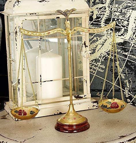 Deco 79 30651 Brass Scale, 12'W x 12'H
