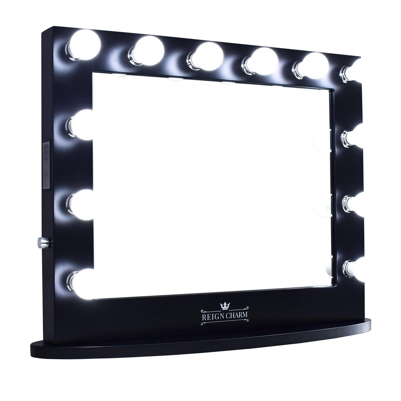 捧呈 ReignCharm Hollywood Vanity Mirror 12 Outlets Lights Dual LED 信託
