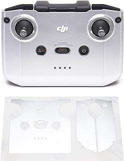 Wrapgrade Skin kompatibel med DJI Mini 2 | Fjärrkontroll (AIRFORCE SILVER)
