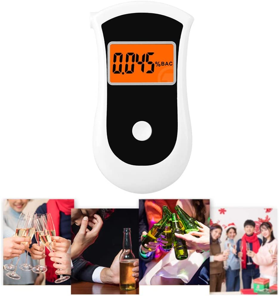 Portabl Breath Tester Portable Breathalyzer LCD Meter Profession Limited In a popularity time cheap sale
