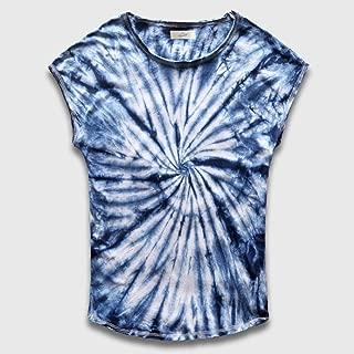Sweatshirt Gradient Tie Dye T Shirt Hip Hop Clothing Mens Tee Shirts Streetwear