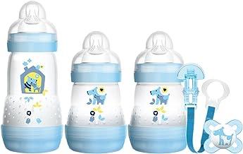 modelos surtidos 1 unidad Chupete y Clip Rosa MAM Bienvenido a El mundo fij/ó incluye Botellas