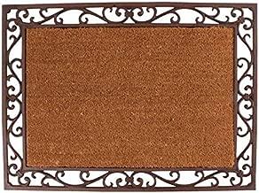 Esschert Design LH48 Cast Iron Doormat with Coir Insert