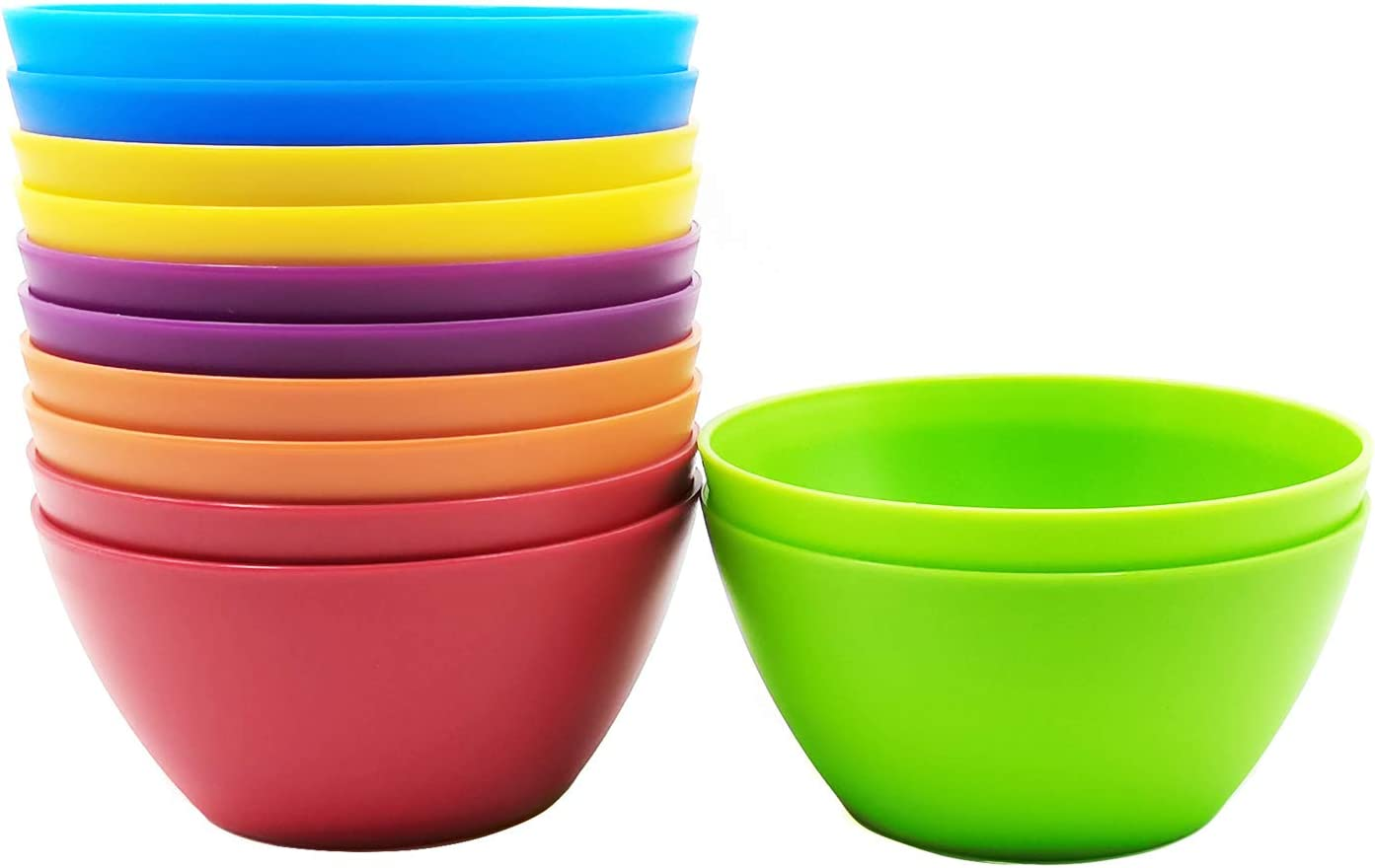 28-ounce Plastic Bowls 70% OFF Topics on TV Outlet for Cereal or Salad in of Assor set 6 12