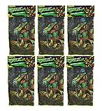 Teenage Mutant Ninja Turtles 6-Pack 16x16 Microfiber Hand Towel Kitchen Dishcloths