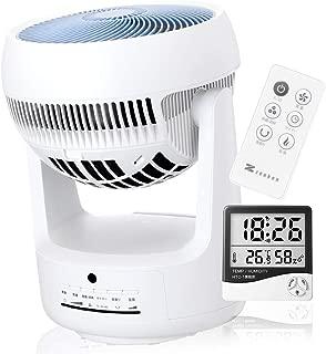 衣類乾燥機能&マイナスイオン発生器搭載 サーキュレーター「ピュアドライ ZCL-1200」ゼンケン 正規品「温度&湿度計」付き