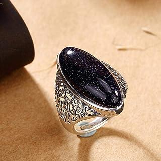 Lozse Anelli regolabili S925 argento intarsiato gioiello lusso raffinato anello invia gli amici famiglia compleanno laurea