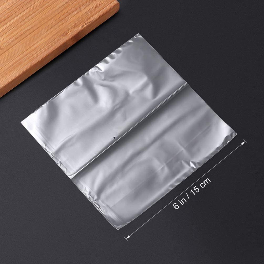 Healifty 200pcs Clear Shrink Wrap Bags Odorless Heat Shrink Film Wrap Bags for Wrapping Soaps Candles Jars and Small Gifts