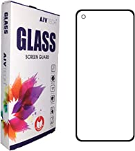 AivTech Tempered Glass Screen Guard For OnePlus 9 OnePlus 8T OnePlus 9R With 9H hardness Edge To Edge Full Screen Coverage Oleophobic Coating Ultra HD With Easy Installation Kit BLACK