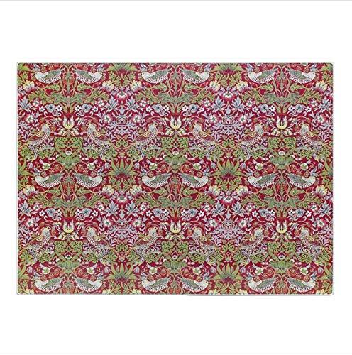 William Morris Erdbeerdieb Schneidebrett Oberflächenschutz Schneidematte Glas