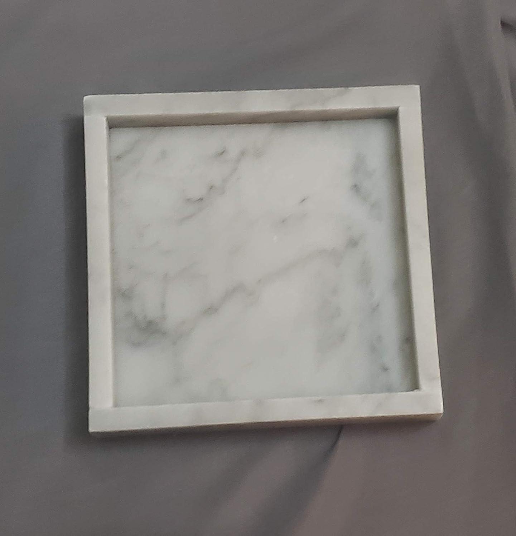 Gorgeous famous Handmade Carrara Marble Tray 6