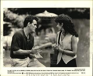 Historic Images - 1993 Press Photo Matt Dillon and Annabella Sciorra in The Movie Mr. Wonderful