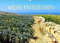 WEGE ENTDECKEN (Wandkalender 2022 DIN A2 quer): Verwunschene Pfade und einsame Wege, die in die Unendlichkeit zu fuehren scheinen - ein Spaziergang fuer die Seele (Monatskalender, 14 Seiten )