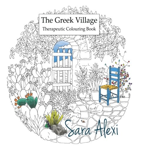 The Greek Village Colouring Book