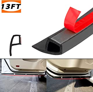 L-Shape, 10M PAPILLON 33Feet Long Tesla Model 3 Car Door Seal,Universal Soundproof Weatherstrip Draft Rubber Strip Seal for Automotive Doors Window Engine Cover Sunroofs Wind Noise Reduction