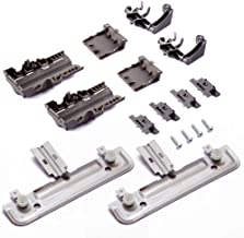 W10712394 Dishwasher METAL Rack Adjuster Kit Replacement - Exact Fit For Whirlpool Kenmore Dishwashers - Replaces W1023841...