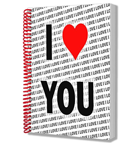 I Love You–A5notebook–Notepad–Birthday Christmas–Gift