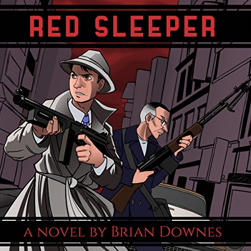 Red Sleeper audiobook cover art