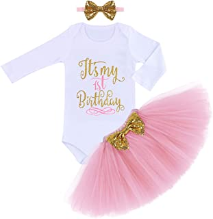 First Birthday Outit for Baby Girl Princess Cake Smash Photography Shoot