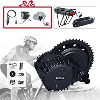 BAFANG BBS02B 48V 500W 750W BBSHD 1000W Motor Electric Bicycle Conversion Kit with LCD Display and Battery (Optional) Ebike DIY Part and Assessories