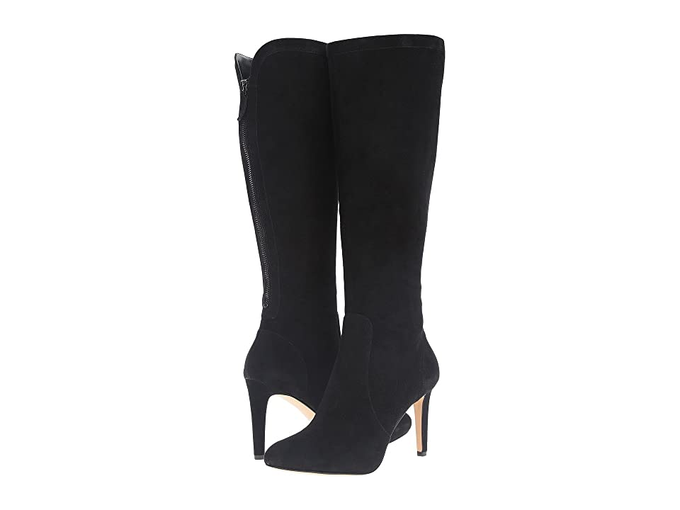 Nine West Holdtight (Black Suede) Women
