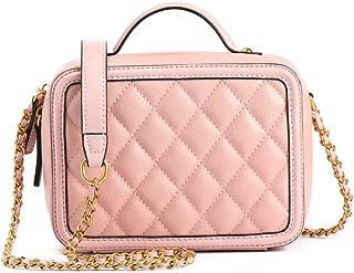 Spring Summer Simple Ladies Bag New Handbag Shoulder Diagonal Small Square Bag Women's Leather Messenger Bag(FM),A