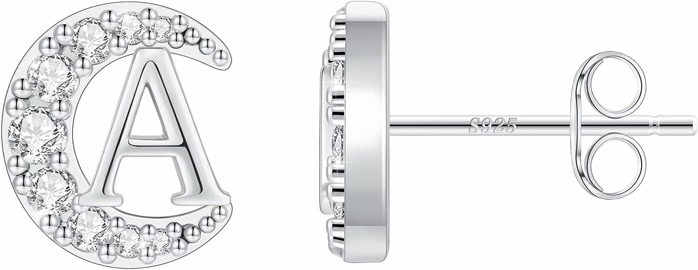 Moon Star Sun Stud Earrings for Ster Girls Gold Award Bombing free shipping Plated S925 14K
