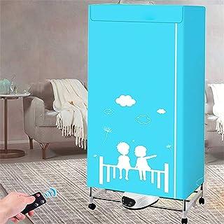 PaNt sèche-linges électrique,capacité de 1300W-33LB Sèche-linge pliant à ions négatifs à lumière bleue,Home Séchoir automa...