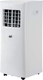 Portable Air Conditioner,8000 BTU, 200 sq.ft, Standing Room AC Unit with LED Display, Remote Control and 24-Hour ON/OFF Programmable Timer, Low Noise Level, ETL Certified