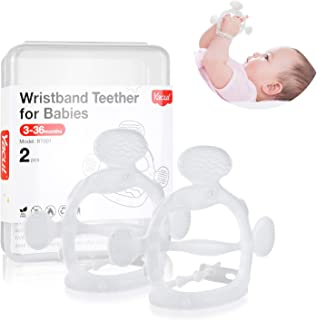 Silicone Baby Teething Toys, Yacul Wrist Teether for Babies