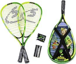 Speedminton Junior Set - Original Speed Badminton/crossminton Children`s Set Includes 2 Kids Rackets, 2 Fun Speeder and Bag.